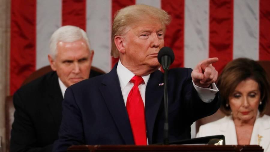 Trump lanza advertencia contra Irán y esta es respondida