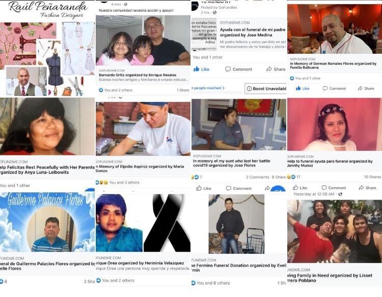 Colapsan las funerarias de NY por mexicanos muertos