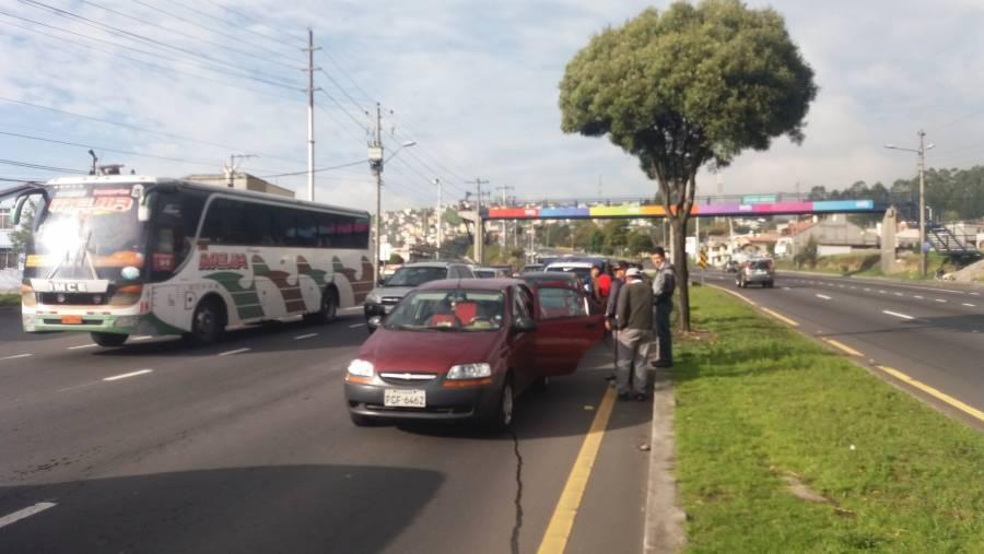 Nueva forma de extorsión en la capital con accidentes viales