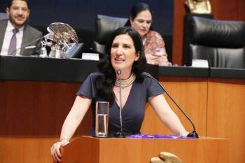 Senadora del PAN señaló que a AMLO le falta sensibilidad en sus decretos