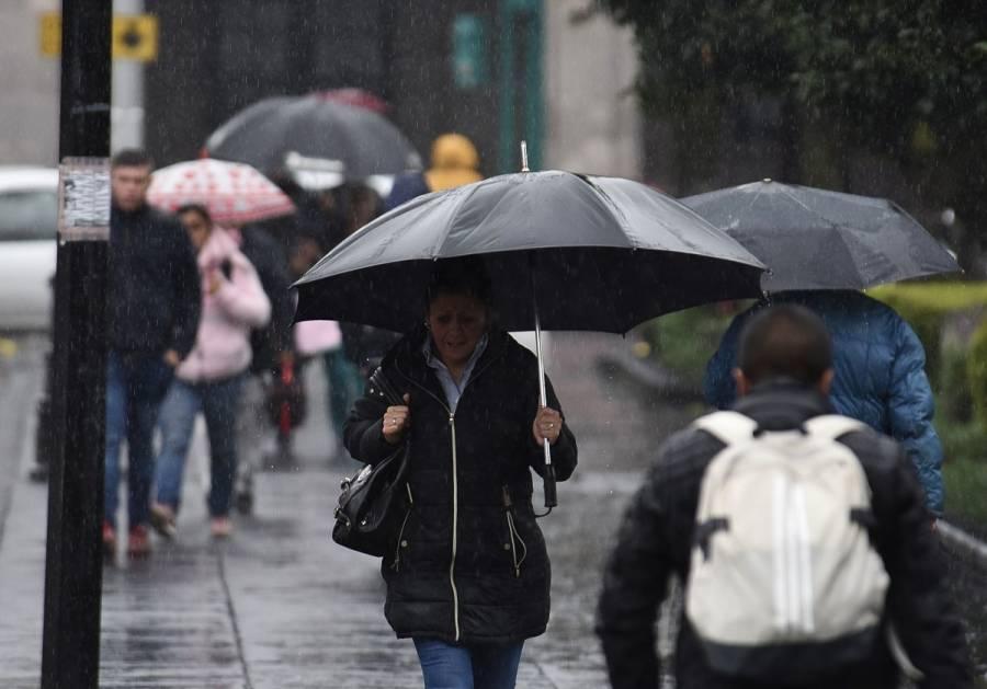 Prevén lluvias con caída de granizo en CDMX