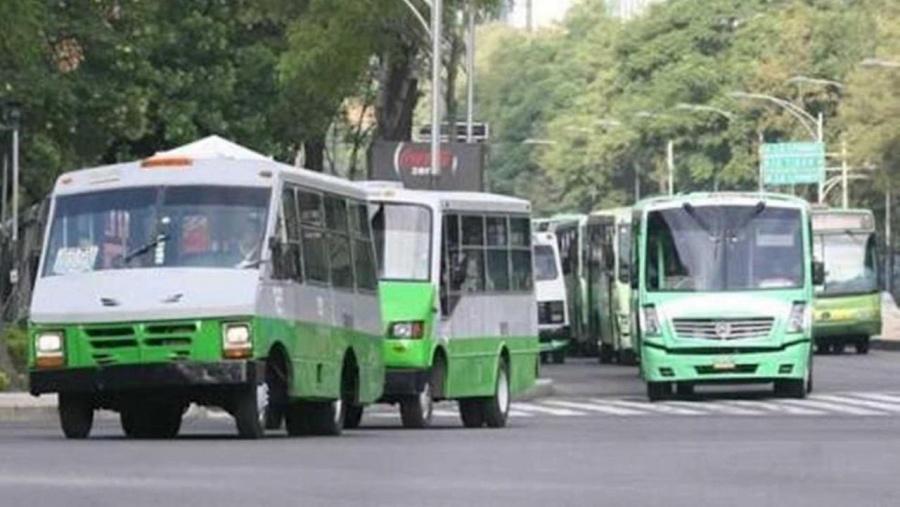 Detectan baja de 85% en transporte público