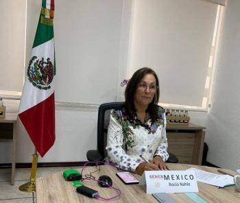 Roció Nahle: ve viable construcción de refinería en Dos Bocas; analiza dar informes mañana