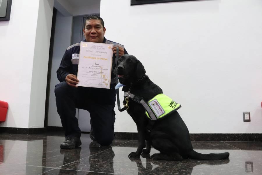 Reconoce Federación Canófila labor de binomios caninos