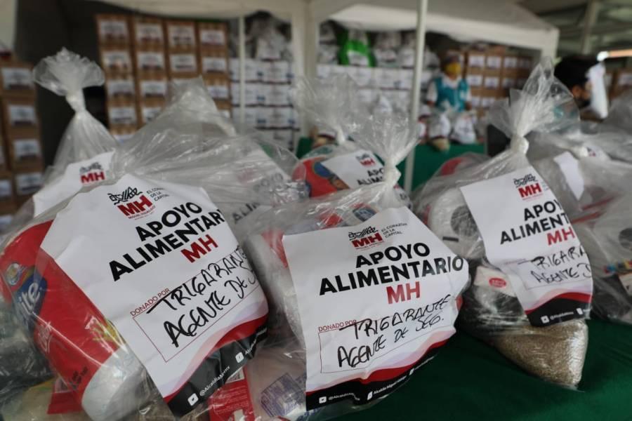 Miguel Hidalgo abre centro de acopio para apoyar a población necesitada