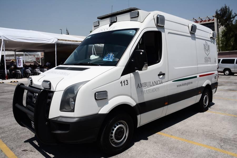 Redistribuye ISSSTE ambulancias y personal de Central de Emergencias