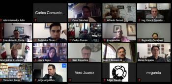 Dialogan Cámara de Diputados y Canacintra sobre los efectos de la pandemia