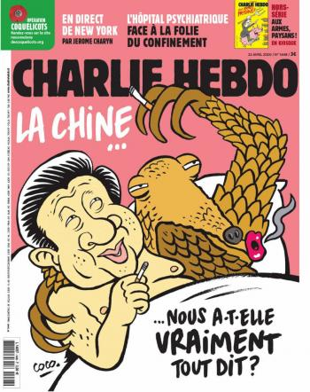 Charlie Hebdo publica caricatura de Xi Jinping