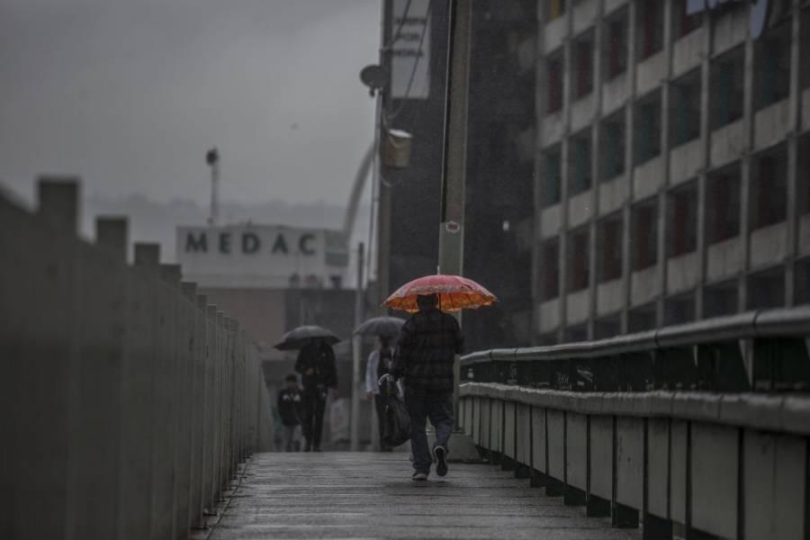 Prevén lluvias para este sábado en la CDMX