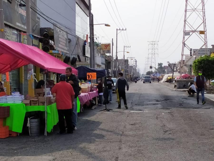 IMPIDEN COLOCAR A CIENTOS DE VENDEDORES EN TIANGUIS SAN JUAN