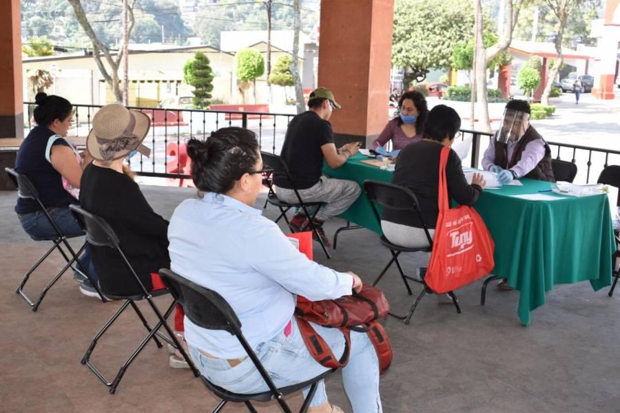 Alista M. Contreras dispersión de 10.5 millones a familias vulnerables