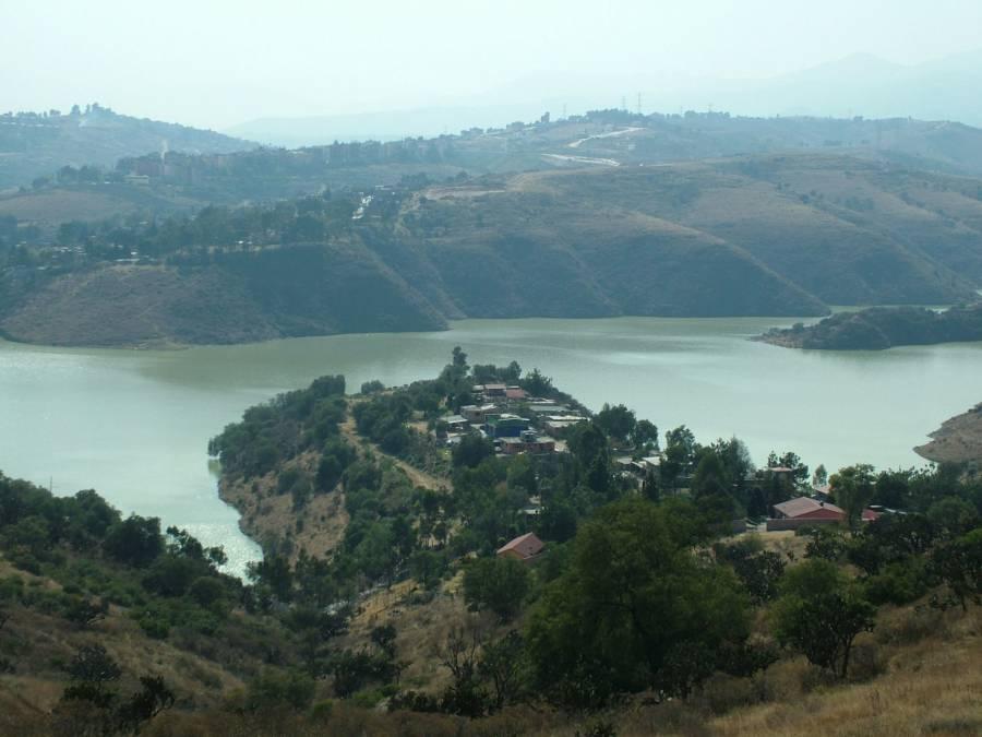 Hay un avance del 60% en los trabajos de limpieza de la presa Madín