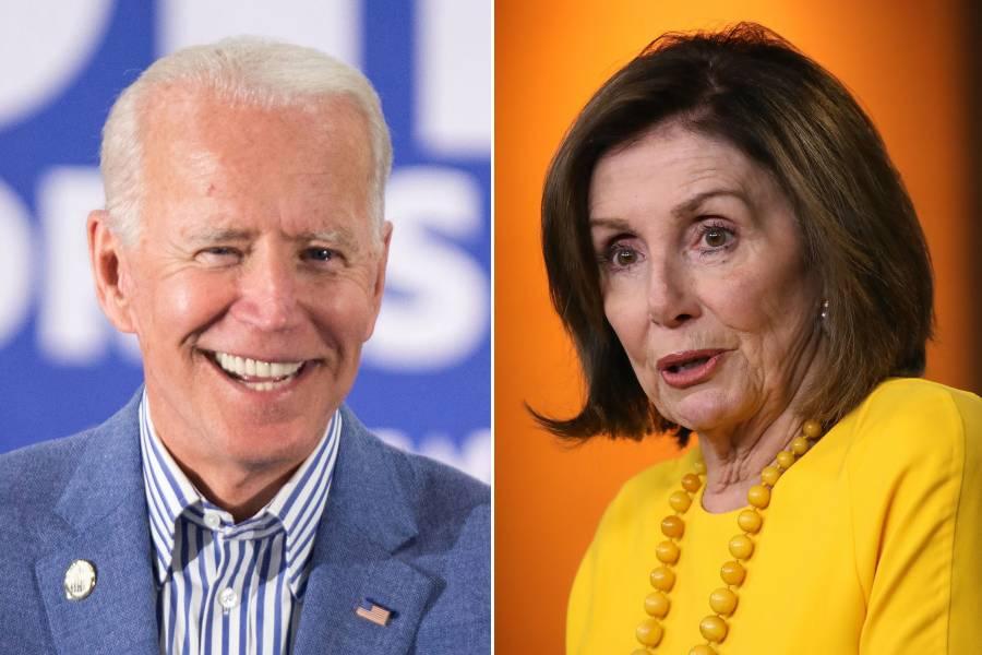 Joe Biden recibe el respaldo de Nancy Pelosi en su campaña a la Casa Blanca