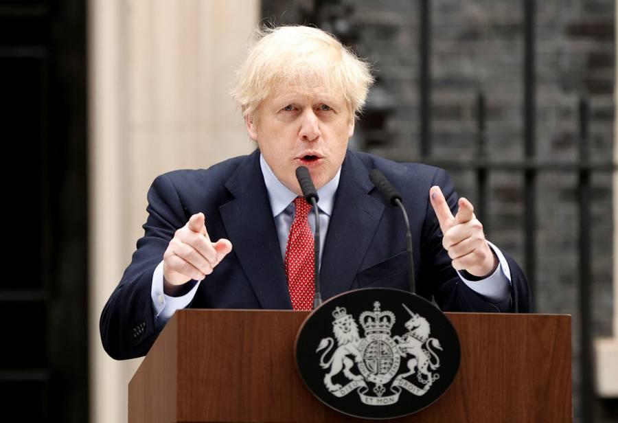 Boris Johnson retoma funciones tras superar el Covid-19