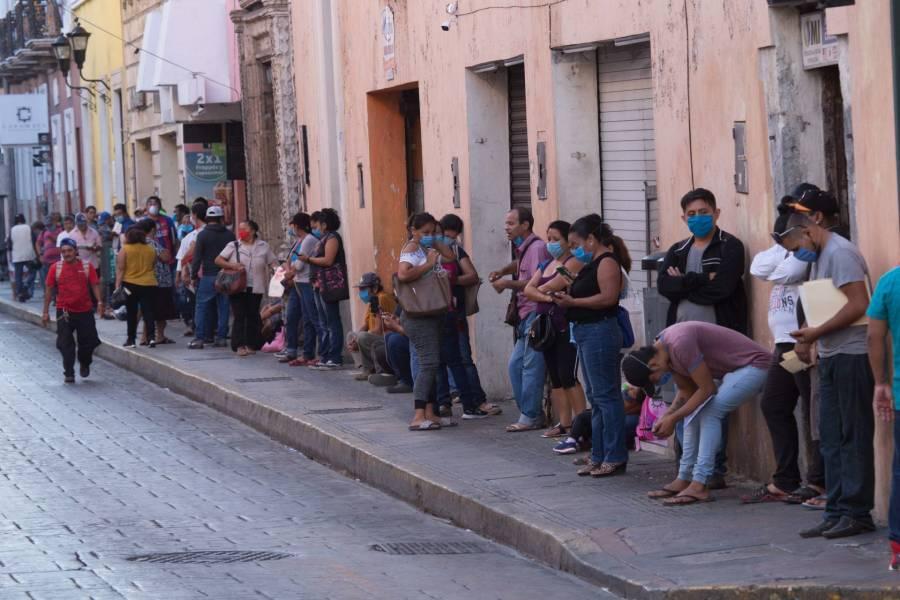 Más de 70 mil capitalinos piden seguro de desempleo