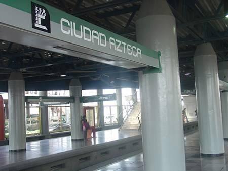 Se contagian 30 empleados del metro de la estación Ciudad Azteca
