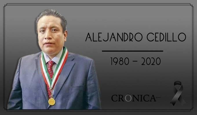 Fallece de Covid-19 periodista Alejandro Cedillo