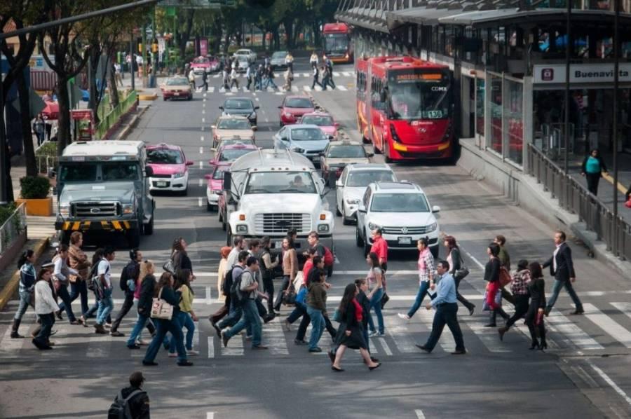 CDMX tiene movilidad reducida al 50 por ciento; Durango e Hidalgo mostraron incremento