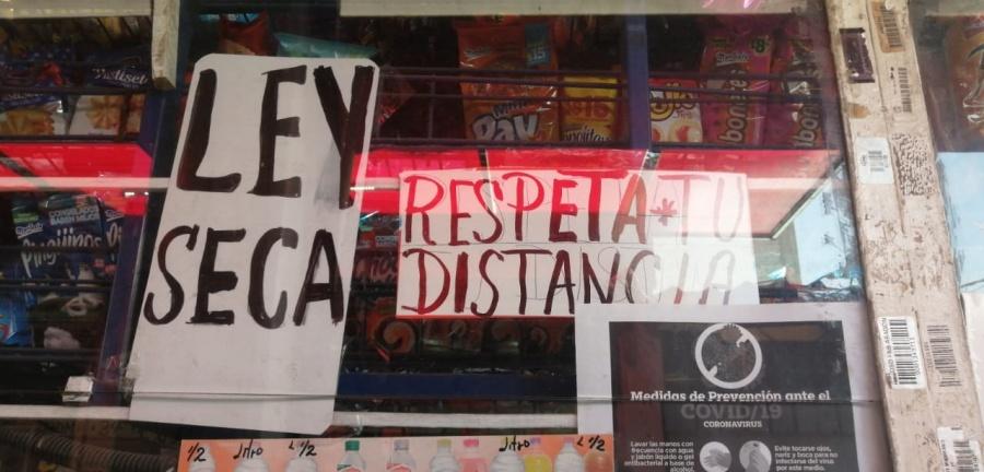 Hay Ley Seca en la mitad de la ciudad de México