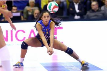 Mexicana Samantha Bricio termina ciclo con equipo italiano de voleibol