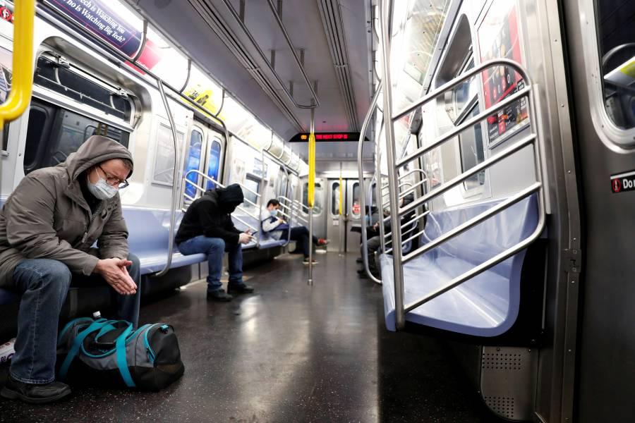 Limpiarán metro de NY durante la pandemia