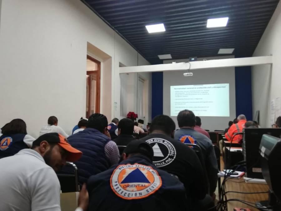 Dan cursos de Protección Civilen línea