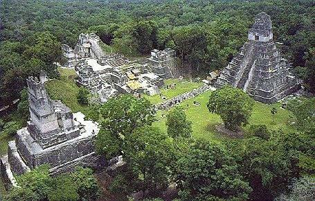 Las travesuras de los niños mayas