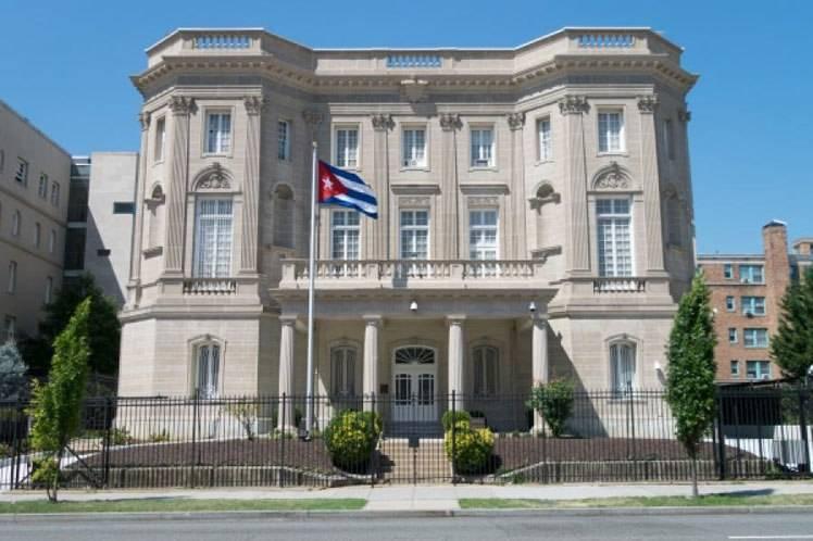 Disparan contra embajada de Cuba en Washington Washington