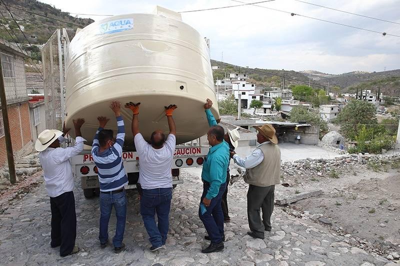 """Opera programa """"Porque el agua es tu derecho"""" en Puebla"""