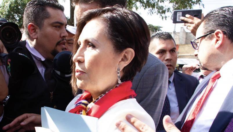 Juez ordena prueba de Covid-19 a Rosario Robles