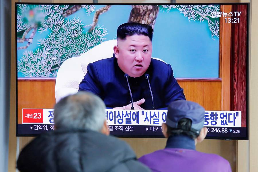 Medio norcoreano reporta aparición pública de Kim Jong-un