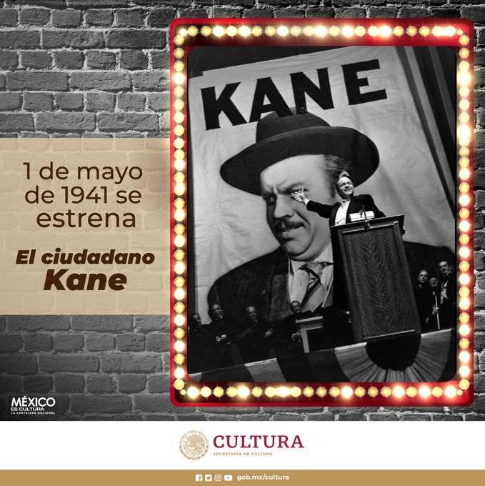 """79 años del estreno de """"El Ciudadano Kane"""""""