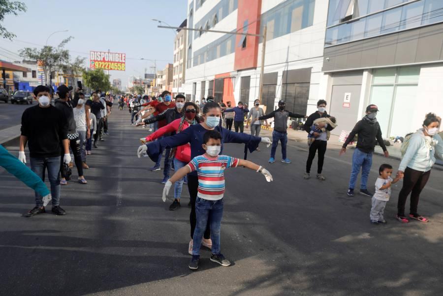 Perú reporta más de 40 mil casos de Covid-19