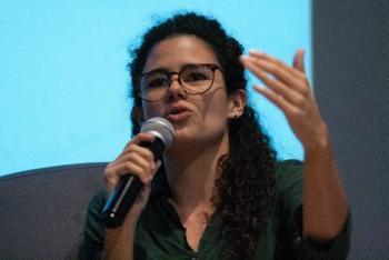 No es correcto abandonar a los trabajadores a su suerte: Luisa Alcalde