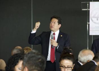 Llama el diputado Mario Delgado a no hacer caso de las campañas mentirosas de la derecha