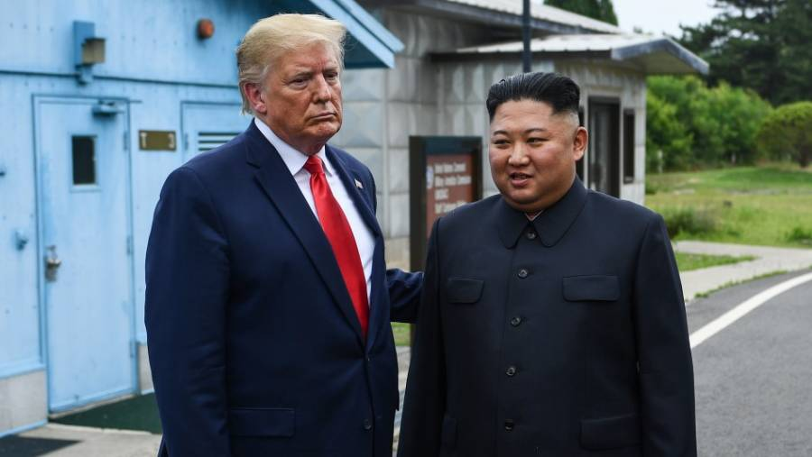 Alegra a Donald Trump que líder de Corea del Norte se encuentre bien