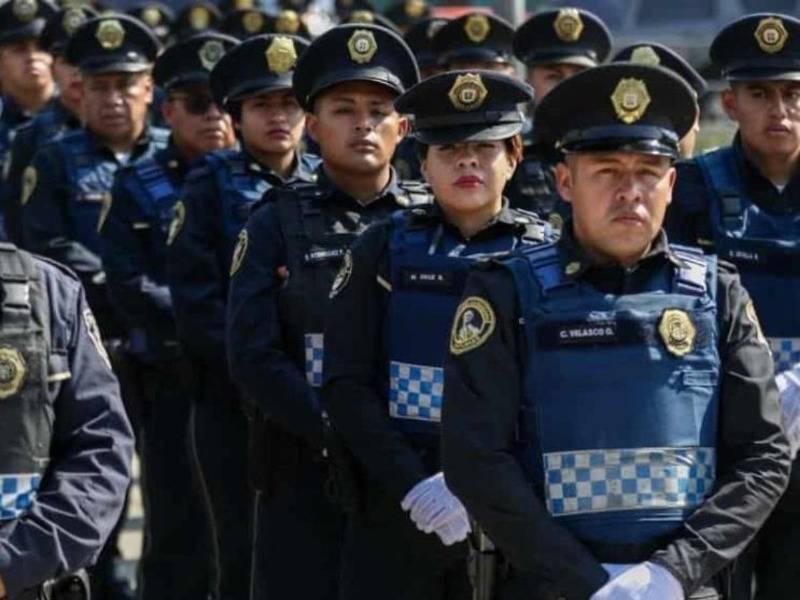 Bajan de peso policías de la CDMX