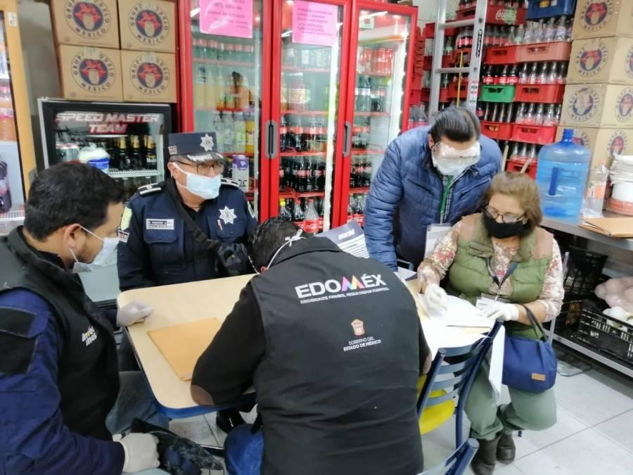 Refuerza en Edo Mex operativos por Covid-19 durante el fin de semana