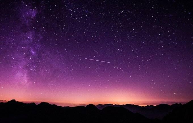 Punto máximo de lluvia de estrellas Eta Acuáridas