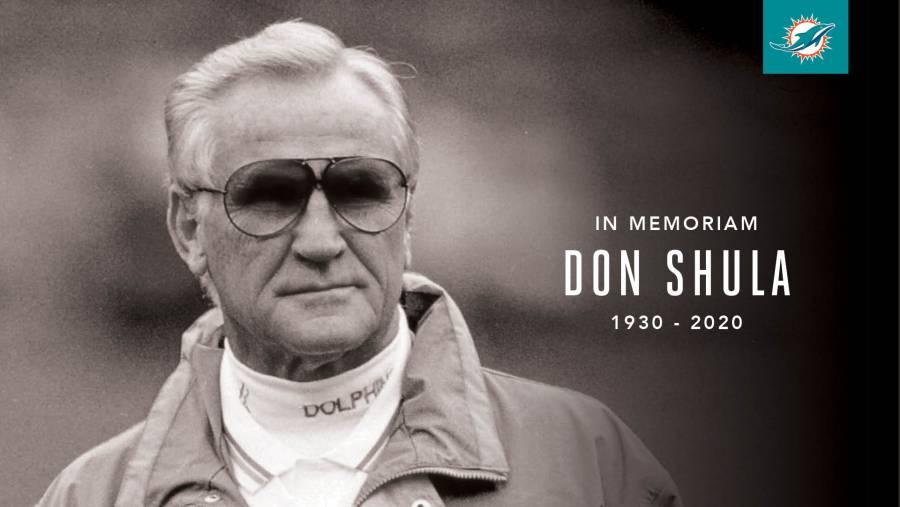 Don Shula, leyenda de la NFL fallece a los 90 años