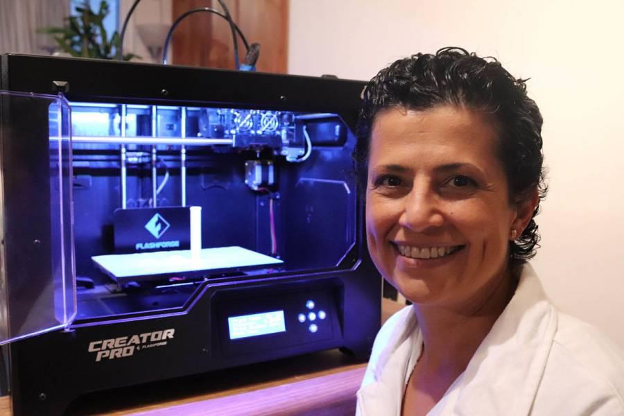 UNAM crea Dispositivo Médico en impresión 3D para buscar soluciones al Covid-19