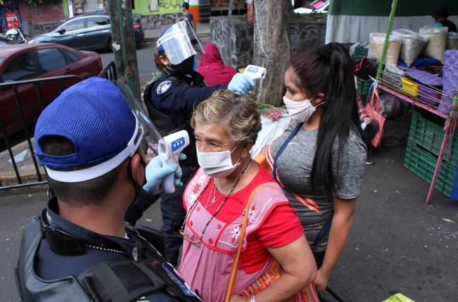 Michoacán acumula 406 casos de COVID-19