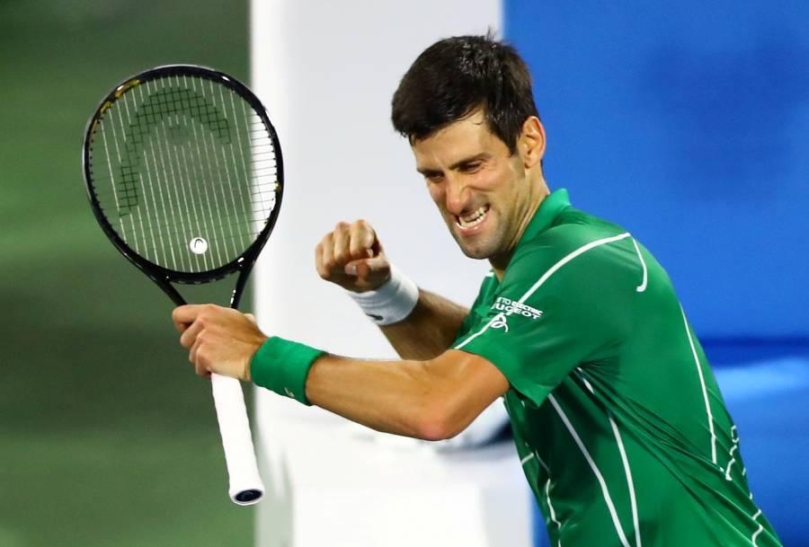 Novak Djokovic se une a subasta solidaria por la pandemia