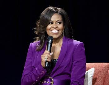 """Michelle Obama lanza trailer de su documental """"Becoming"""" que se estrenará en Netflix"""