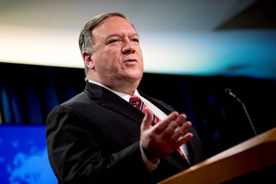 EU buscará repatriar a americanos detenidos en Venezuela: Pompeo