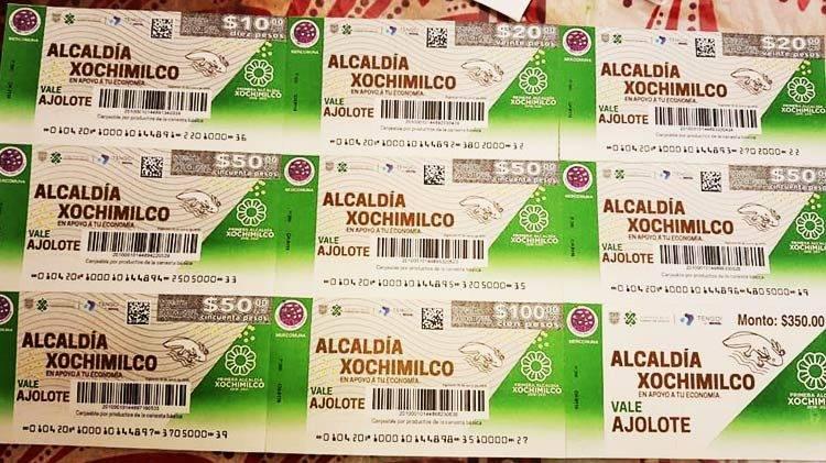 """Conoce la nueva moneda de Xochimilco; los """"Ajolovales"""""""