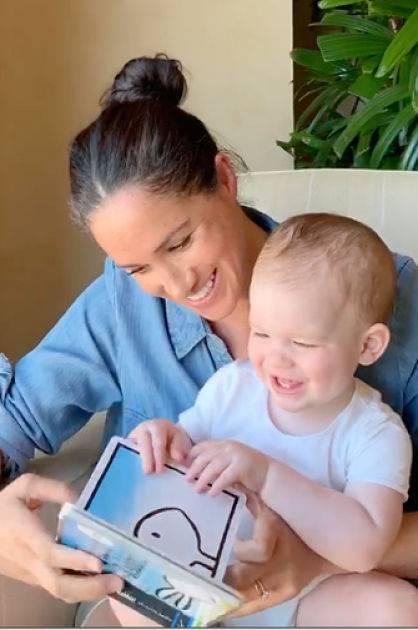 Bebé real Archie cumple un año y así celebró con su mamá, Meghan Markle