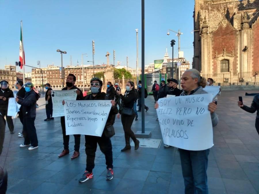 Comunidad artística pide apoyo por falta de recursos durante la pandemia