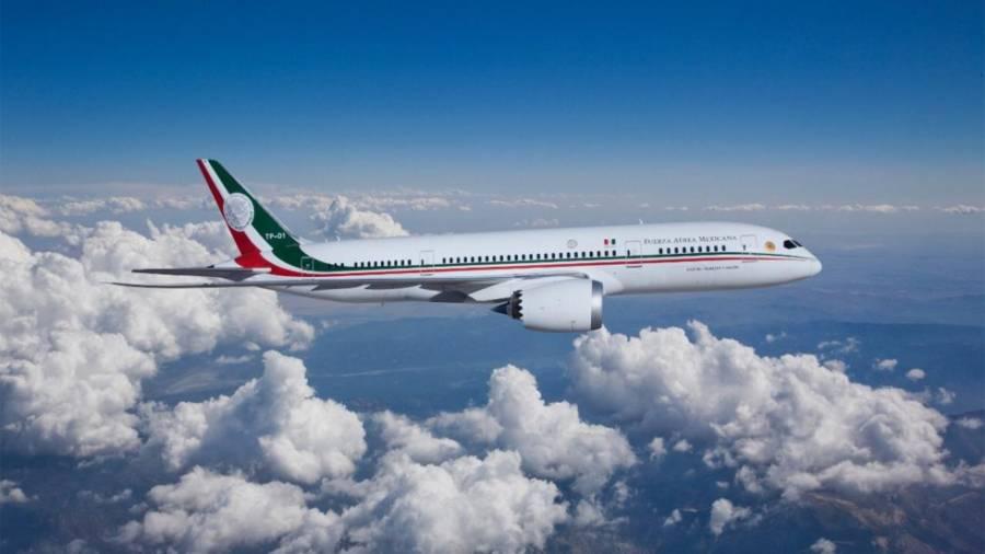 El avión presidencial hace vuelo de prueba después de 521 días