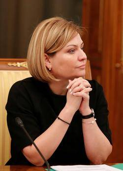 Ministra de Cultura de Rusia es diagnosticada con Covid-19